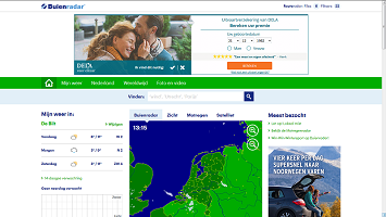website met ads